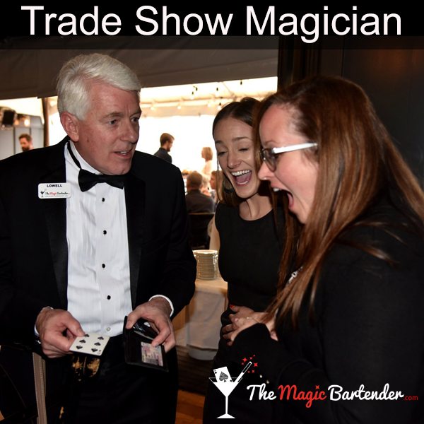 Professional Magician Offers Trade Show Entertainment to Draw Crowds to Client Exhibits